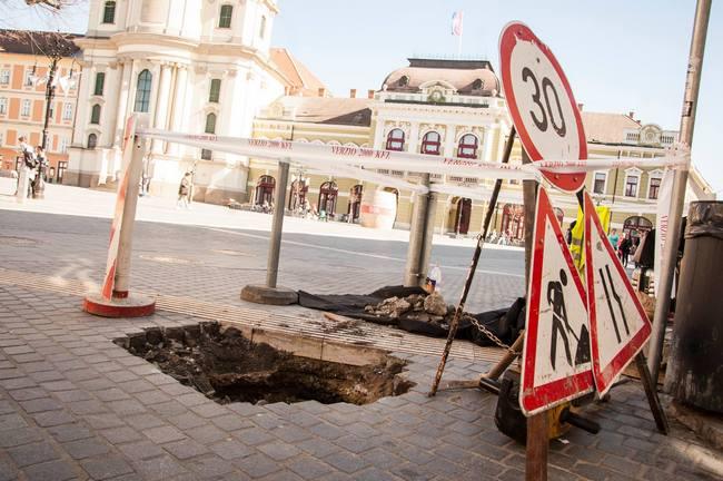 A Jobbik az egri belváros felújításáról