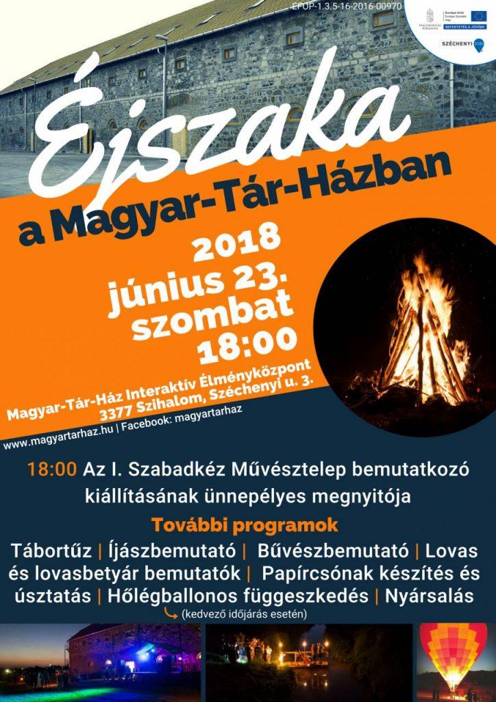 Éjszaka a MTHban2 plakát