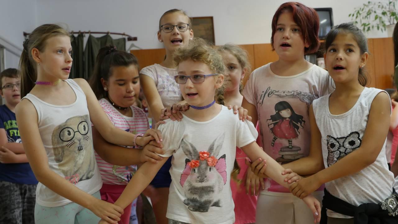 Erzsébet zenetábor a Művészeti Iskolában