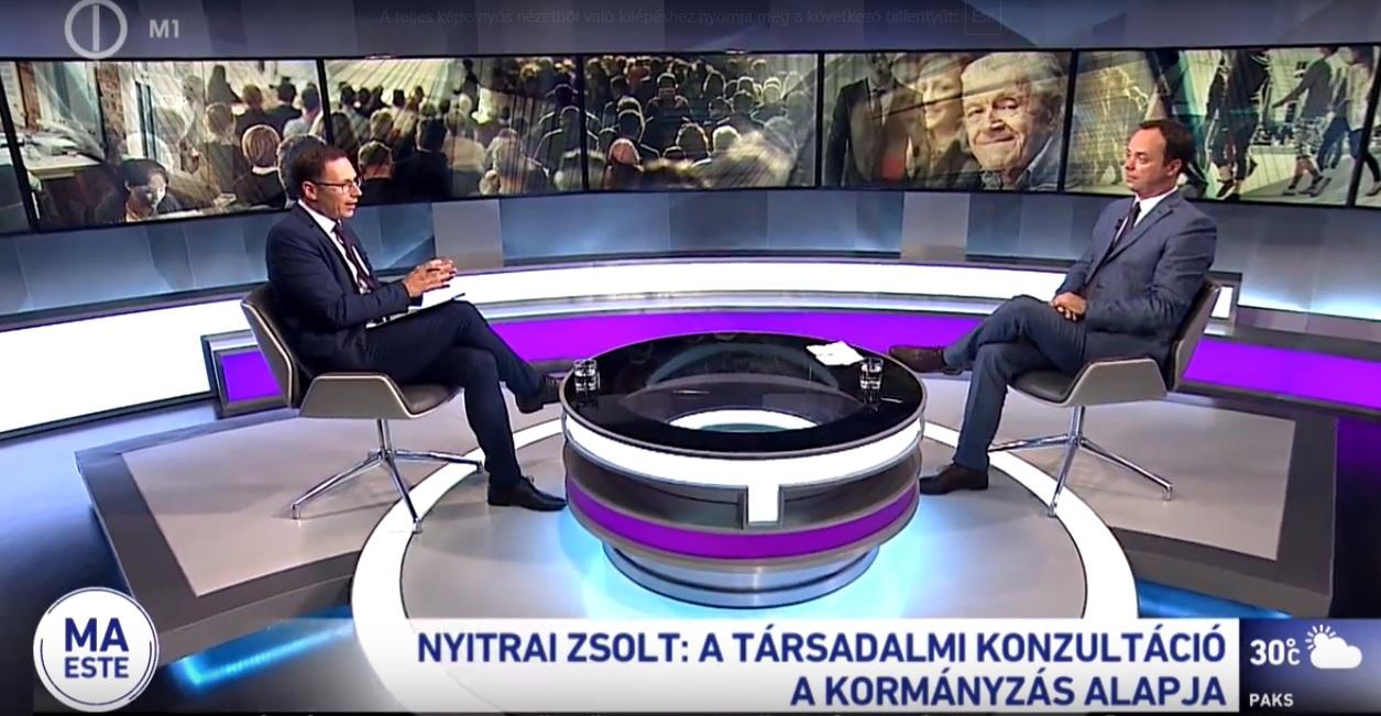 Nyitrai Zsolt: közvetítjük a társadalmi csoportok érdekeit