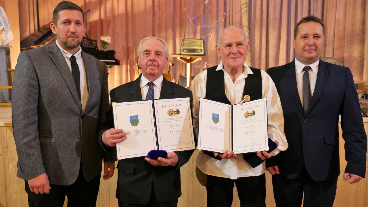 Pro urbe díjak a nemzeti ünnepen