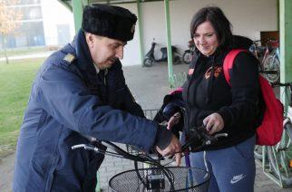 Látni és Látszani – A kerékpárokat ellenőrizték