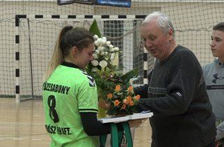 Győzelemmel búcsúztatták a lányok a csapatkapitányt