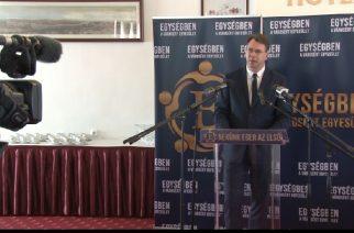 Mirkóczki Ádám az ellenzék közös polgármesterjelöltje Egerben