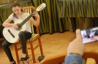 Megyei gitárverseny a Művészeti Iskolában