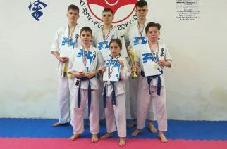 Dobogós helyek a Kyokushin karate Diákolimpia elődöntőn