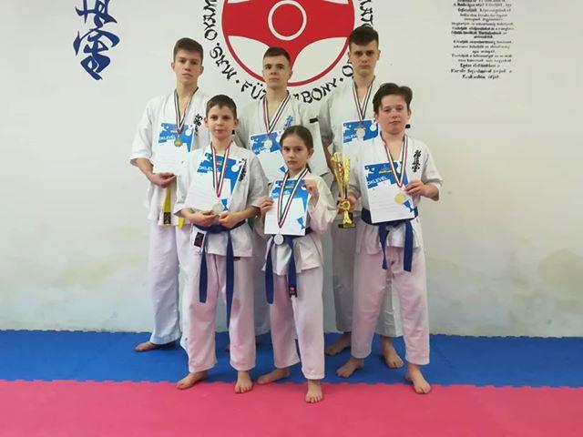 diákolimpia elődöntő karate